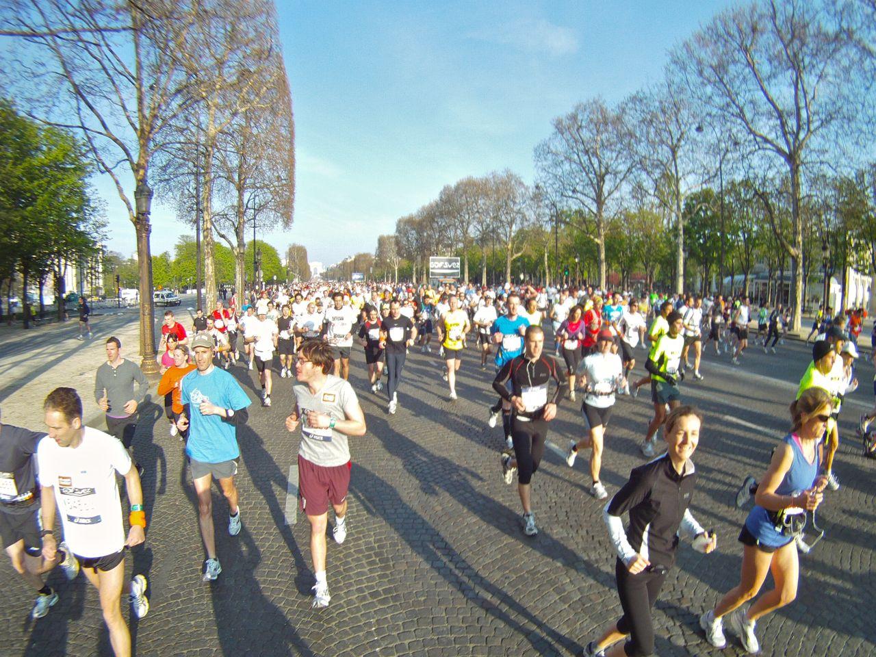 Paris Maraton – Europas Största Lopp